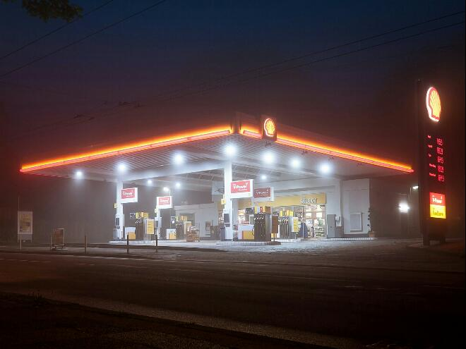Tankstellenpächter Raststation der Zukunft