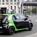 Smart forfour electric drive hinten