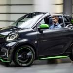 Smart fortwo cabrio electric drive seite