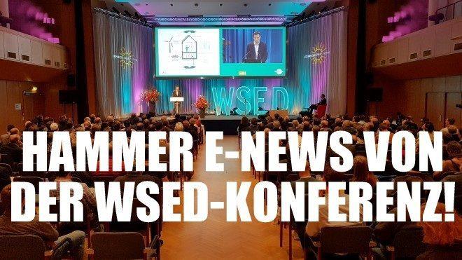WSED Konferenz-E Mobilität Wels Energiesparmesse Nachhaltigkeit