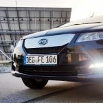 byd e6 Test front nebelscheinwerfer scheinwerfer solaranlage