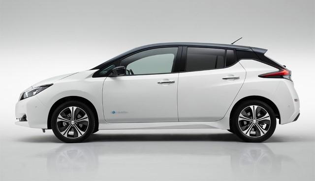Nissan Leaf 2018 neu seitlich