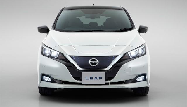 Nissan Leaf 2018 neu von vorne