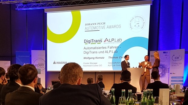 DigiTrans Alp.Lab Johannes Puch Automotive Awards Magna