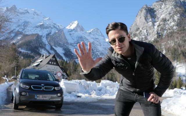 E-Autos im Winter BMW i3 Winter Wintertest Schneefahrbahn Schnee Fahrverhalten Heizung Elektroauto E-Auto Elektromobilität 5 Gruende