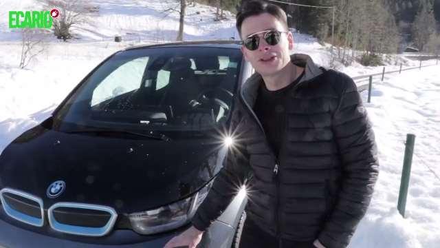 E-Autos im Winter BMW i3 Winter Wintertest Schneefahrbahn Schnee Fahrverhalten Heizung Elektroauto E-Auto Elektromobilität