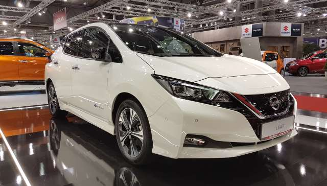 Vienna Autoshow 2018 Elektromobilität Elektroauto nissan leaf