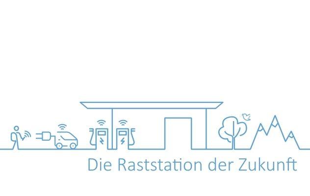 Raststation der Zukunft Ideenwettbewerb tankstelle ladestation energiewende geschaeftsmodelle elektroauto nachhaltigkeit service dienstleistungen autobahn