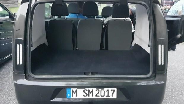 Sono Sion kofferraum laderaum