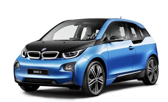 BMW i3 blau blue 2016 2017