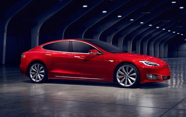 Tesla Model S Front Seite