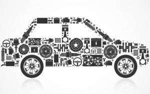 Auto Bestandteile Ersatzteile Verbrenner Wartung