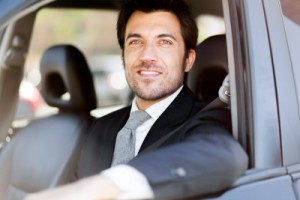 Autofahrer Elektroauto ECARIO Firmenauto