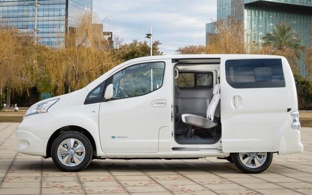 Nissan e-nv200 40 kWh 2018 schiebetür
