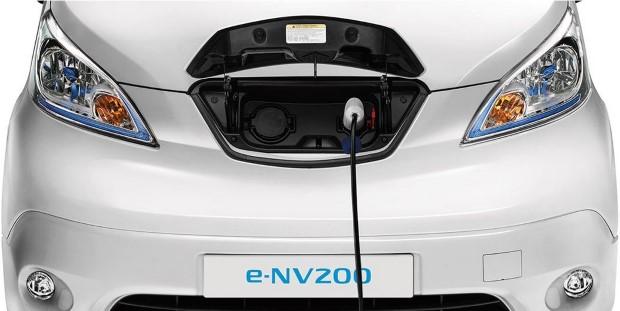 Nissan e-NV200 ladeanschlüsse