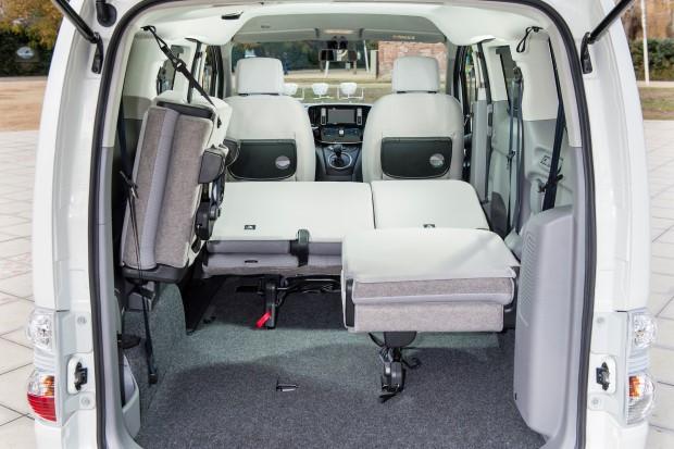 Nissan e-NV200 sitze
