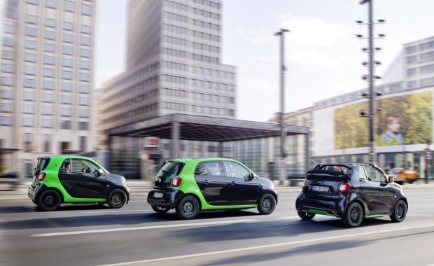 Smart electric drive modelle hinten