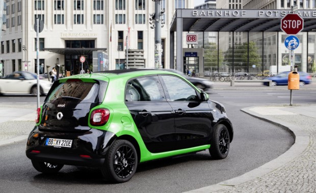 Smart forfour electric drive hinten