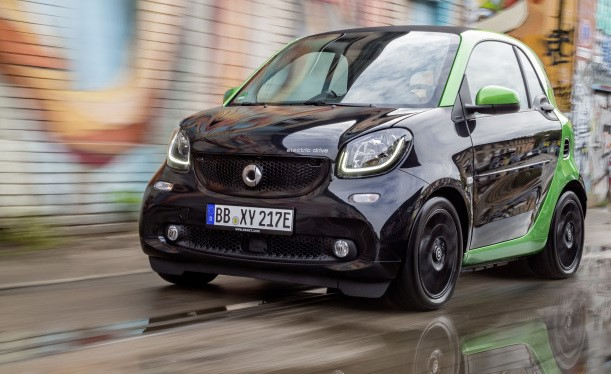 Smart fortwo electric drive vorne