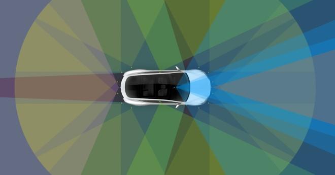 tesla model 3 selbstfahrende autos autopilot hardware update