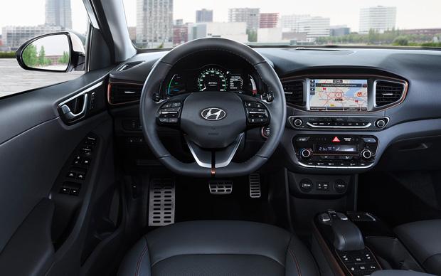 hyundai ioniq electric cockpit