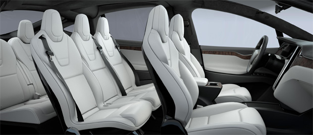 Tesla Model X vegane Sitze