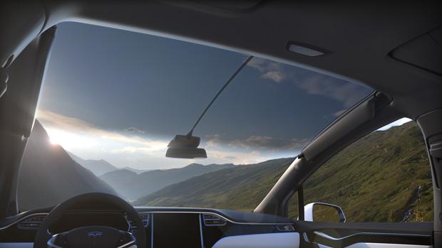 Tesla Model X Windschutzscheibe