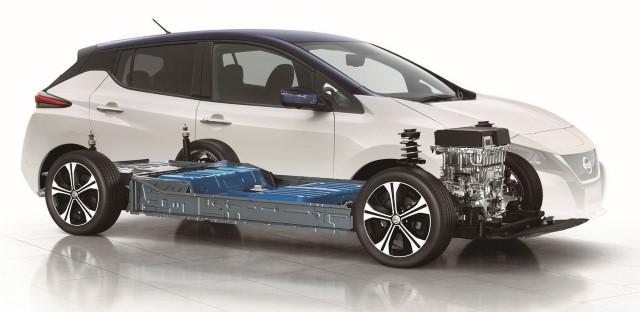 Nissan Leaf 2018 neu performance technik
