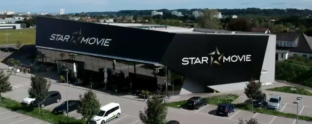 Starmovie Ecario Ladestation Elektroauto E-Auto beim Kino laden