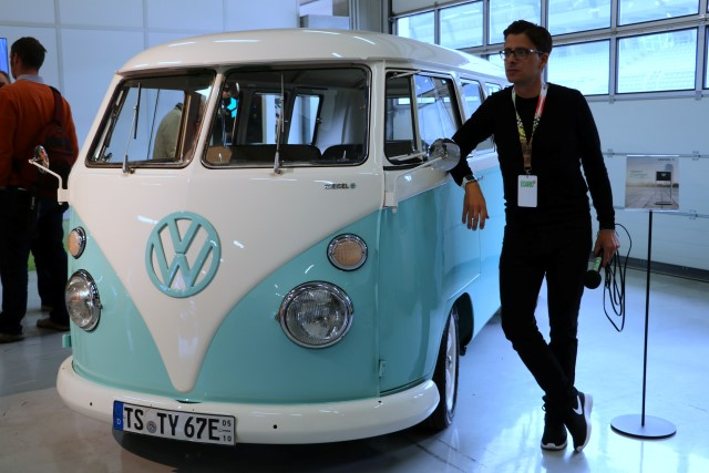 Kreisel Play Days Volkswagen bulli elektroauto elektrobus elektrifiziert