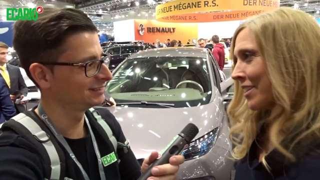 Vienna Autoshow 2018 Elektromobilität Elektroauto renault zoe master valentini