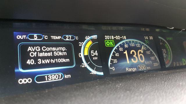 BYD e6 weiss Oesterreich Deutschland Fenecon ecario elektroauto e-auto anzeige verbrauch armaturen innen