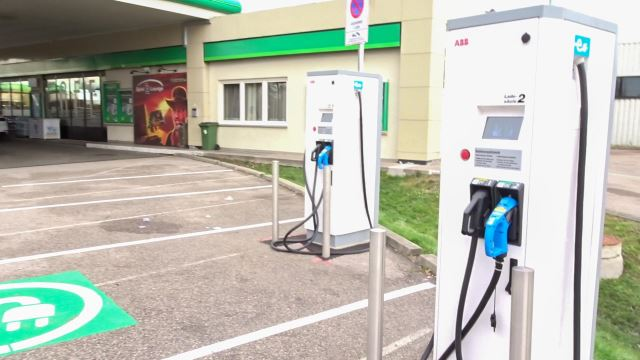 Renner und Penner 2017 Doppler Gruppe BP Tankstelle Ladestationen Schnelllader