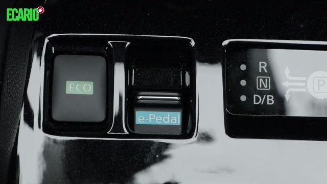 Nissan Leaf 2 e-pedal epedal