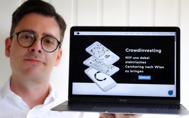 Caroo Crowdinvesting carsharing crowdfounding macbook apple wien elektromobilitaet