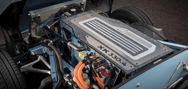 Jaguar E-Type Zero powertrain motor xk330-4 Elektroauto