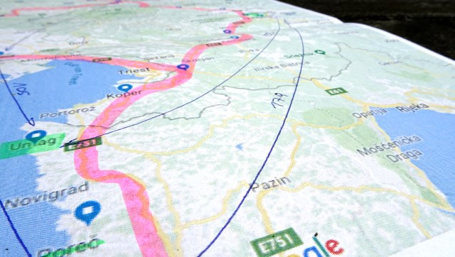 Plan Urlaubsfahrt Kroatien mit dem E-Auto