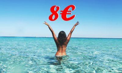 mit dem E-Auto ans Meer um acht Euro frau im meer