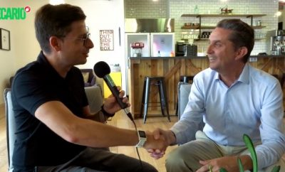 Antoine Basseville with ECARIO in Tel Aviv