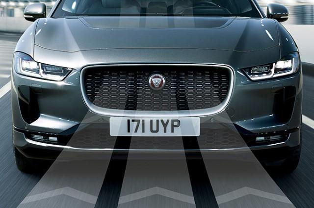 Jaguar I-Pace front airflow
