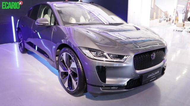 Jaguar I-Pace grau von schräg vorne front