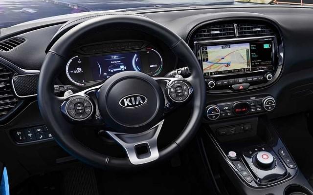 Kia e-Soul 2019 Cockpit Armaturen Innenraum