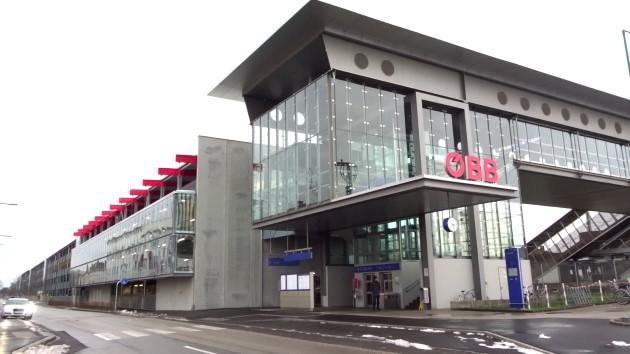 ÖBB Park and Ride Parkhaus Wels Hauptbahnhof