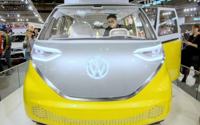 Elektromobilität Vienna Autoshow 2019 Volkswagen I.D. Buzz gelb