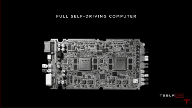 Tesla autonomy chip