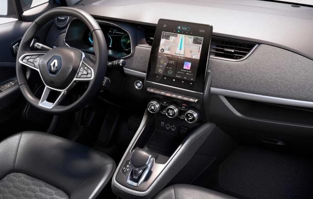 renault zoe ze 50 2019 2020 cockpit display interiour innenraum armaturen lenkrad mittelkonsole