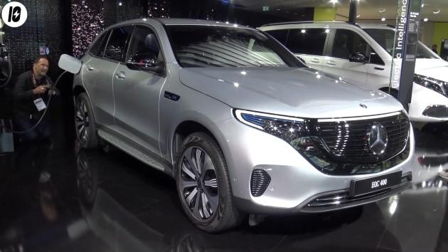 Mercedes EQC Silber Front IAA 2019