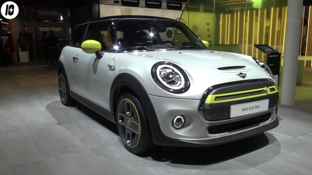 Mini Electric Silber Front IAA 2019