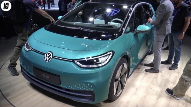 Volkswagen ID.3 türkis front iaa 2019