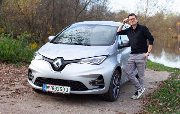 Renault Zoe Z.E. 50 2020 silber